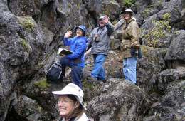 Chapter Members in Gifford Pinchot National Forest